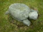 Schildkröte / Anröchter Dolomit - Länge: 60cm / Breite: 38cm / Höhe: 18cm